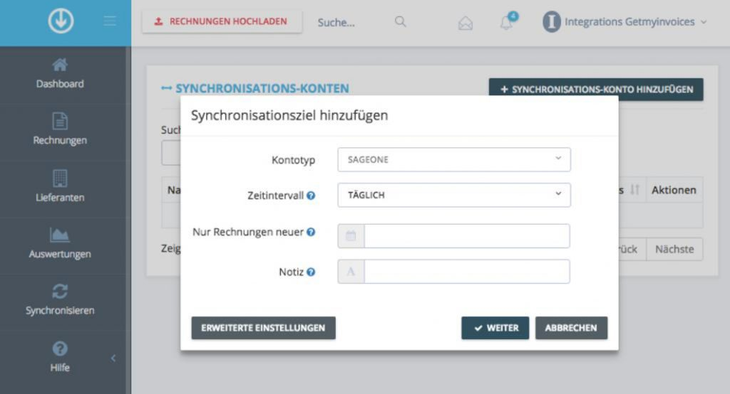 GetMyInvoices presenteert de nieuwe Sage One Interface