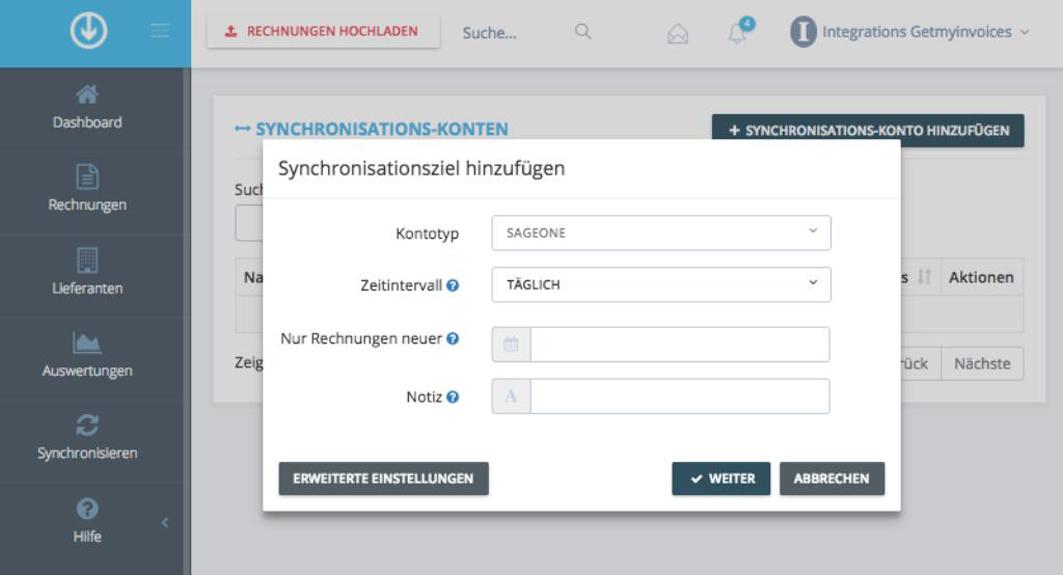 GetMyInvoices presenteert de nieuwe Sage One Interface
