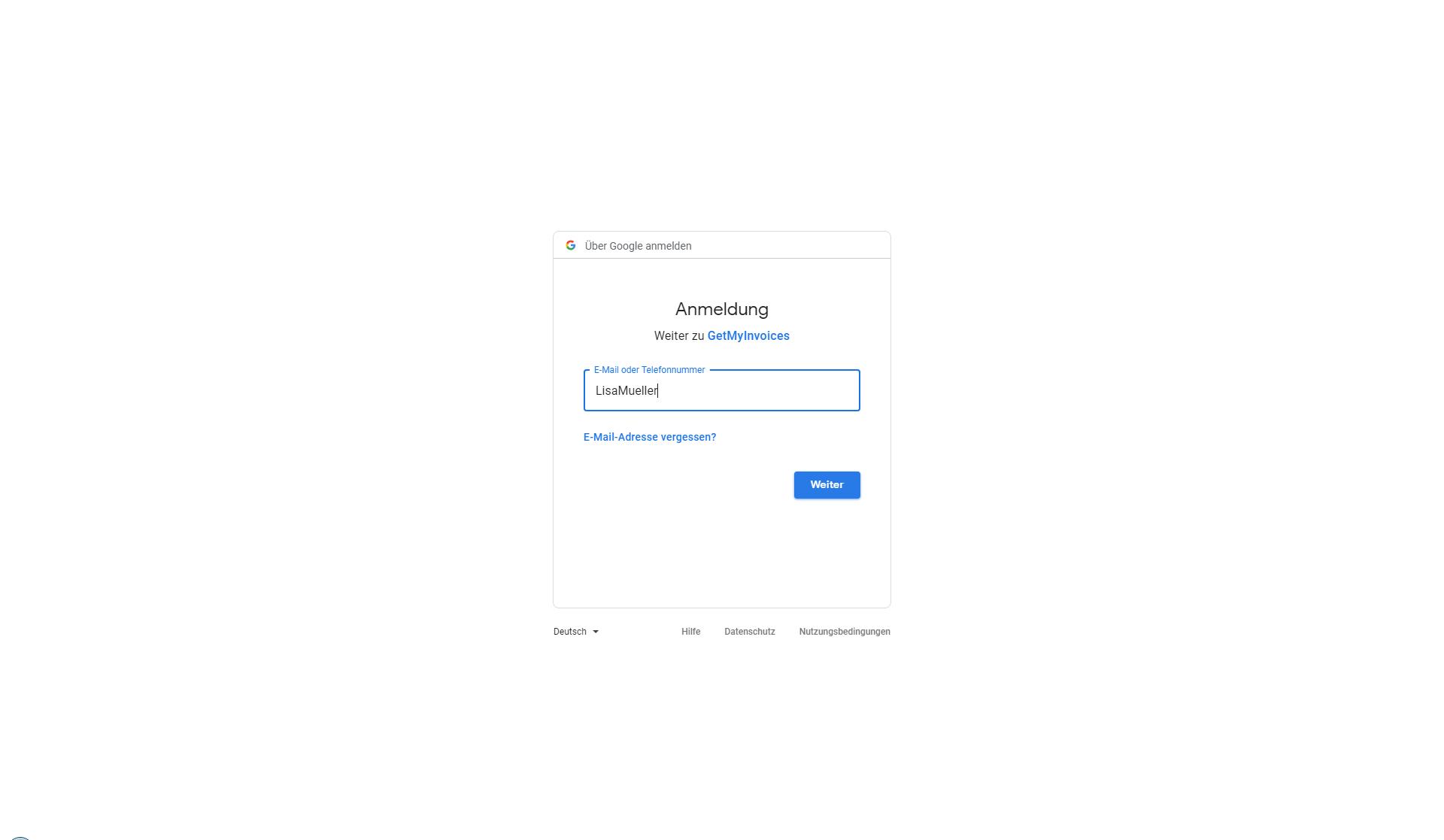 2. Dokumentenimport: Verknüpfung zu Google Drive erstellen