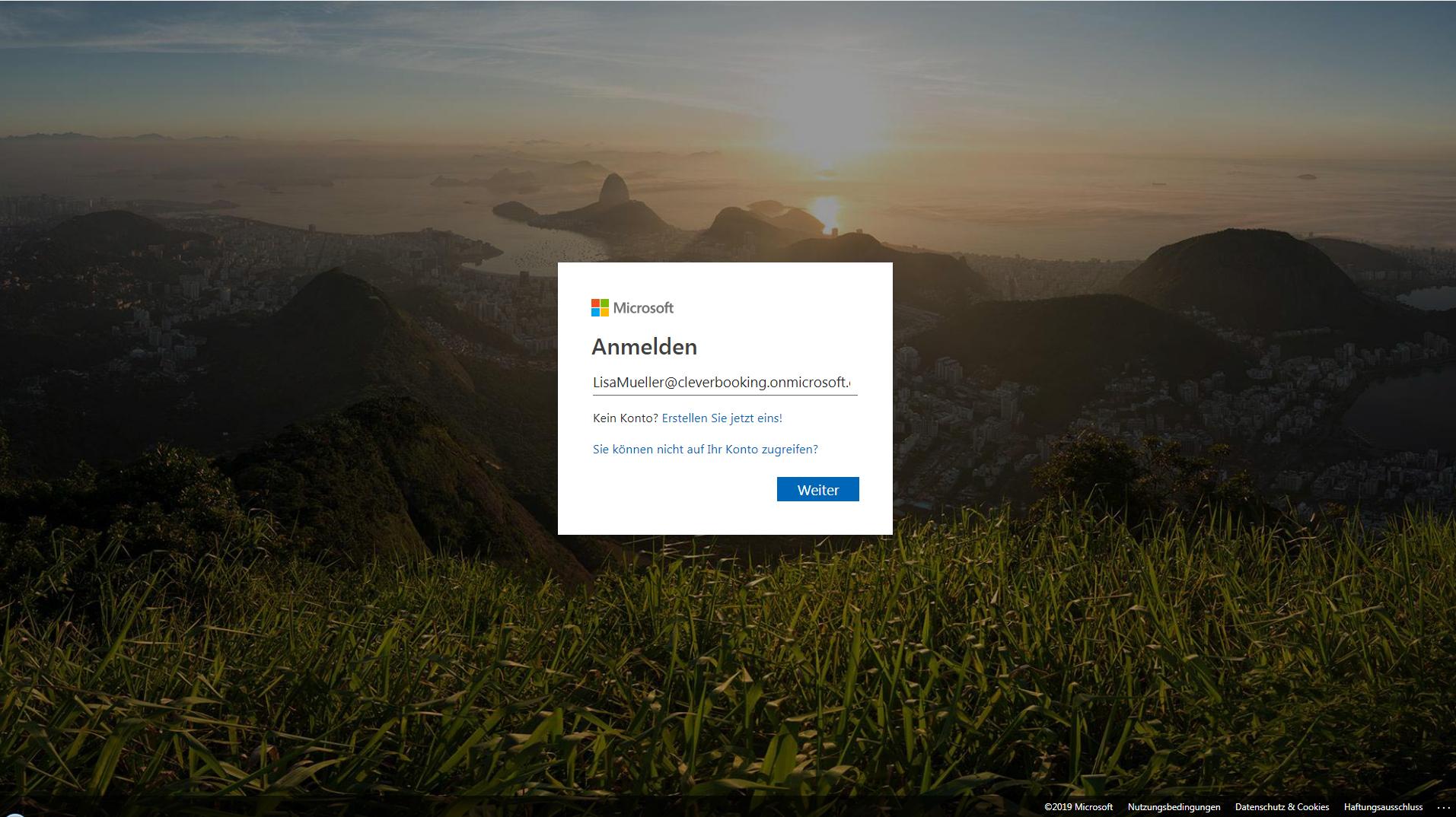 3. Dokumentenexport: Verknüpfung zu OneDrive erstellen