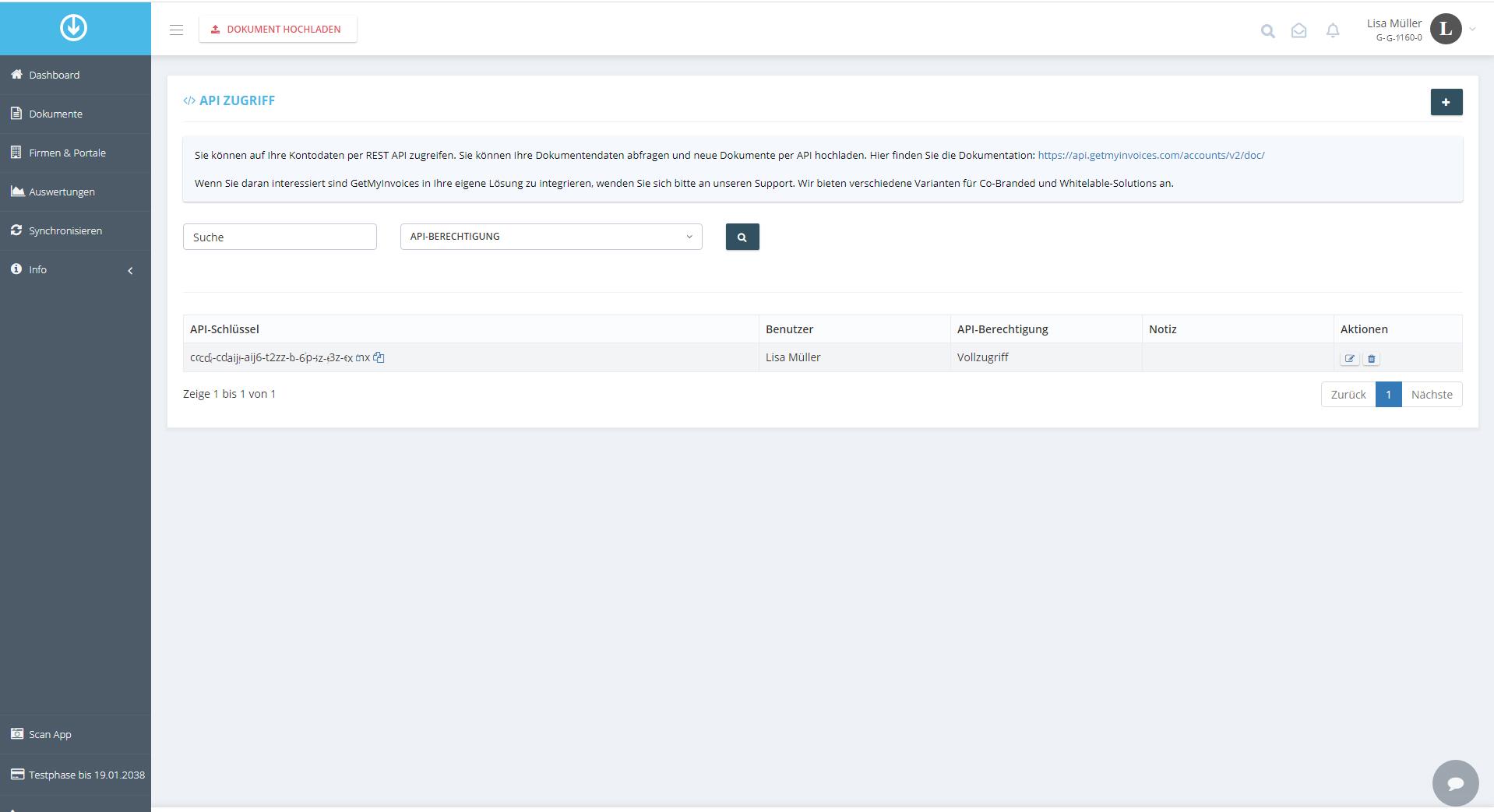 1. Copia la clave API de GMI